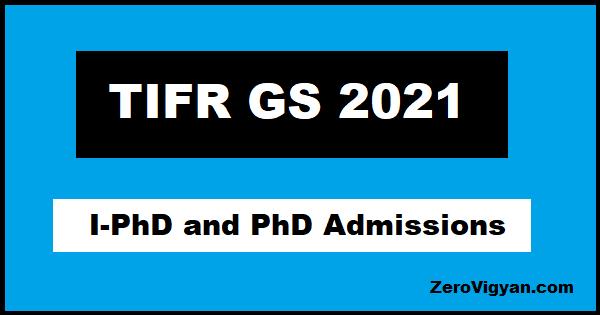 TIFR GS 2021