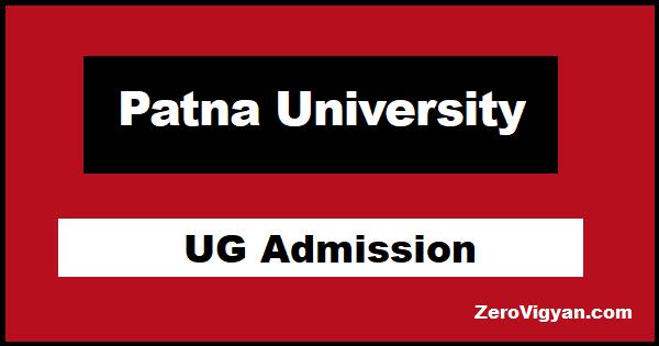 Patna University UG Admission